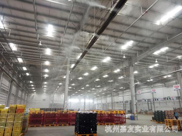 大型仓库加湿系统